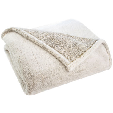 jcpenney.com | Pacific Coast Textiles Velvet Touch Two-Tone Throw