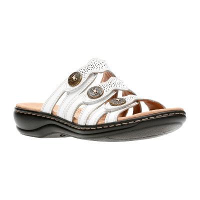 d1a2d12a7d2c Clarks Womens Leisa Grace Slide Sandals - JCPenney