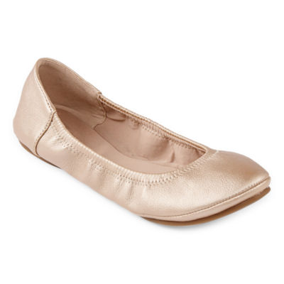 6af58331e5d45 a.n.a Joy Womens Slip-on Round Toe Ballet Flats - JCPenney