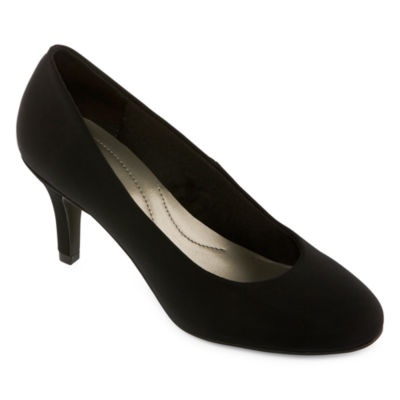 86eec4b2f90d east 5th Womens Carolyn Pumps Slip-on Round Toe Stiletto Heel
