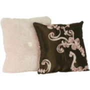 Cotton Tale Cupcake 2-pc. Pillow Set