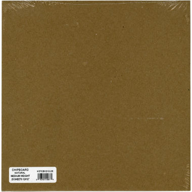 jcpenney.com | Medium Weight Chipboard Sheets - Natural 12X12