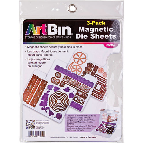 ArtBin® Magnetic Sheets—3/Pkg
