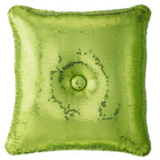 Seventeen® Lime Sequin Decorative Pillow
