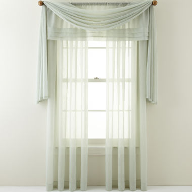 jcpenney.com | Royal Velvet® Crushed Voile Window Treatments