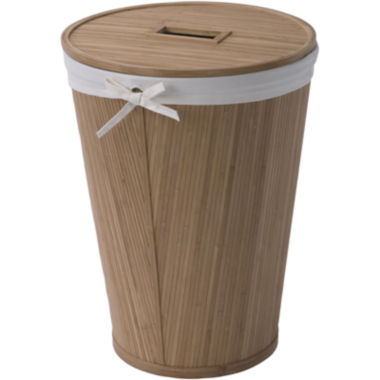jcpenney.com | Creative Bath™ Eco Style Bamboo Hamper with Lid