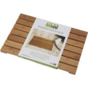 Eco Style Bamboo Bath Mat