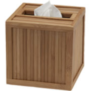 Creative Bath™ Eco Style Bamboo Tissue Holder