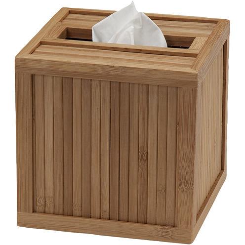 Creative Bath™ Eco Style Bamboo Tissue Holder
