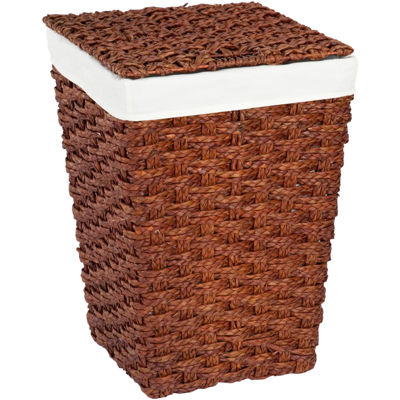 Creative Bath™ Chunky Weave Hamper