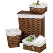 Creative Bath™ Windsor 4pc Storage Set Hampers