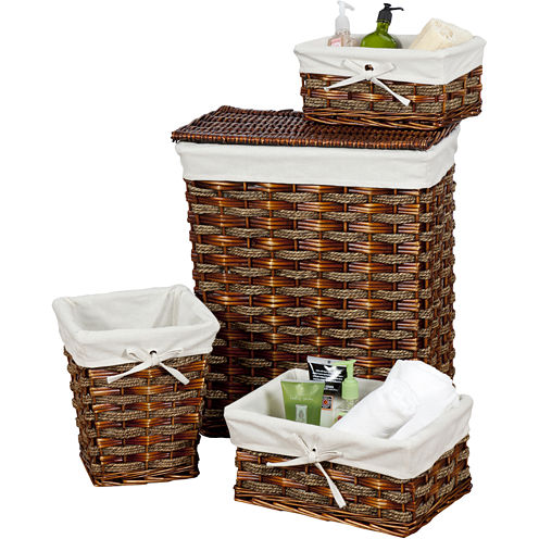 Creative Bath™ Windsor 4-pc. Storage Set Hampers
