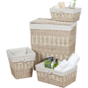 Creative Bath™ Arcadia 4-pc. Storage Hamper Set