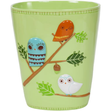jcpenney.com | Creative Bath™ Give A Hoot Wastebasket