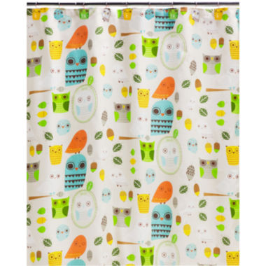 jcpenney.com | Creative Bath™ Give A Hoot Shower Curtain