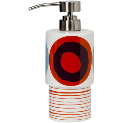 Creative Bath™ Dot Swirl Ceramic Soap Dispenser