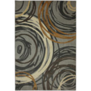 Swirls Rectangular Rugs