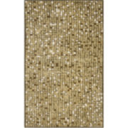 Martha Stewart Rugs™ Mosaic Rectangular Rugs – Oolong Tea