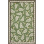 Martha Stewart Rugs™ Fern Frolic Rectangular Rugs – China Green Marble
