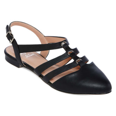 jcpenney.com | GC Shoes Charming Slingback Ballet Flats