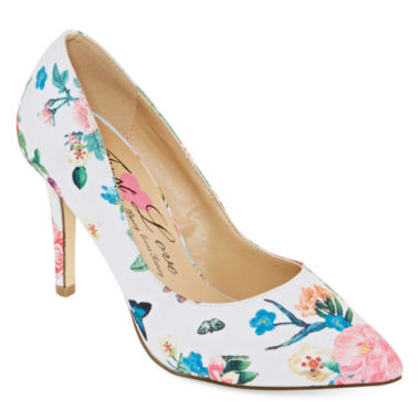 jcpenney.com | First Love Paris Floral Pumps - Wide Width
