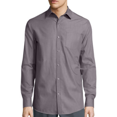 jcpenney.com | Claiborne® Long-Sleeve Chambray Shirt