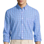 Dockers® Signature Long-Sleeve Check Printed Woven Shirt