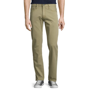 jcpenney.com | Arizona Slim Straight Flex Twill Pants