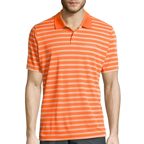Columbia® Oak View™ Short-Sleeve Striped Polo