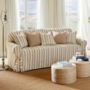 SURE FIT® Harbor Stripe 1-pc. Sofa Slipcover