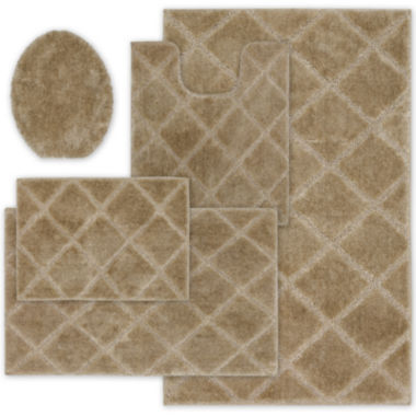 jcpenney.com | Mohawk Home™ Diamond Bath Rug Collection