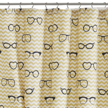 jcpenney.com | HipStyle Liv Cotton Printed Shower Curtain