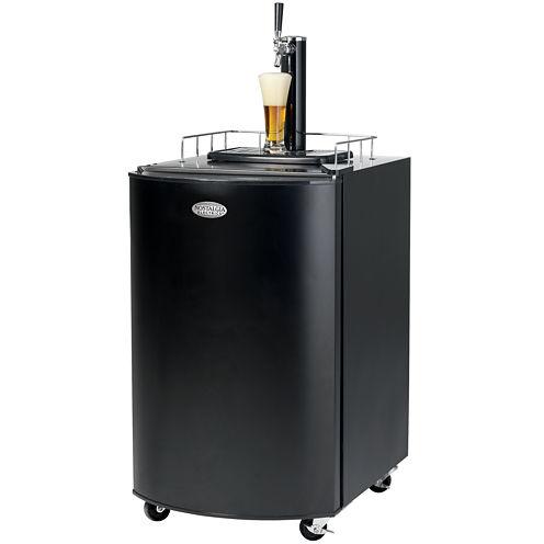 Nostalgia KRS2100 5.1 Cubic-Foot Full Size Kegorator Draft Beer Dispenser