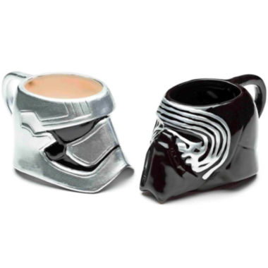 jcpenney.com | Disney Star Wars® Kylo Ren and Captain Phasma Set of 2 Mugs