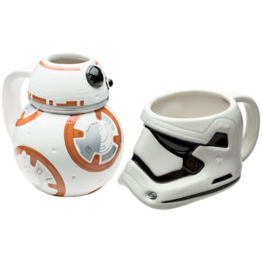 jcpenney.com | Disney Star Wars® BB-8 and Stormtrooper Set of 2 Mugs