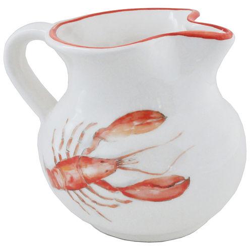 Abbiamo Tutto Lobster 34-oz. Ceramic Pitcher