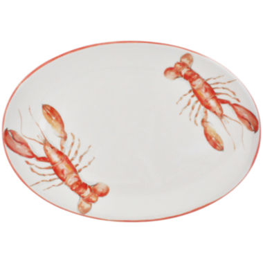 jcpenney.com | Abbiamo Tutto Lobster Oval Ceramic Serving Platter