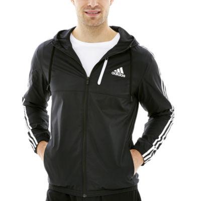 adidas men's essential woven jacket