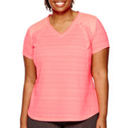 Xersion™ Short-Sleeve Mesh T-Shirt - Plus