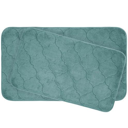 Bounce Comfort Faymore 2-pc. Memory Foam Bath Mat Set