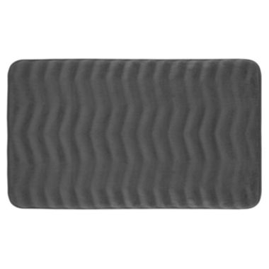 jcpenney.com | Bounce Comfort Waves Memory Foam Bath Mat Collection