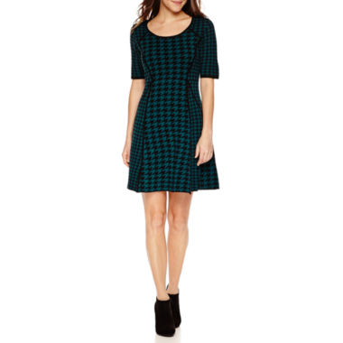 jcpenney.com | Studio 1 3/4 Sleeve Sweater Dress-Petites
