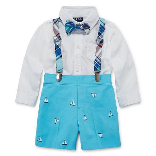 IZOD 3-pc. Short Set Baby Boys