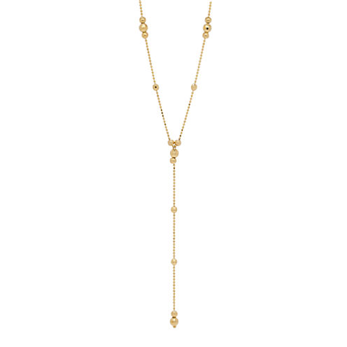 Womens 14K Y Necklace
