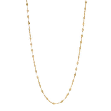 jcpenney.com | Made In Italy Womens 18 Inch 14K Gold Link Necklace