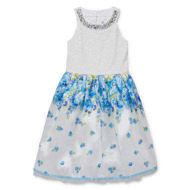 jcpenney.com | Speechless Sleeveless Fit & Flare Dress - Big Kid Girls Plus
