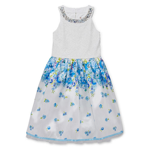 Speechless Sleeveless Fit & Flare Dress - Girls' 7-16