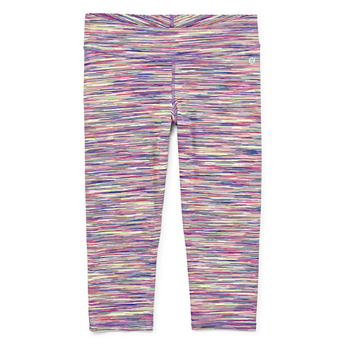 Xersion Performance Space Dye Capri Leggings - Girls' 7-16 and Plus