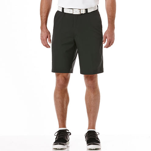 PGA TOUR® Comfort Stretch Waistband Solid Tech Cargo Short- Big & Tall