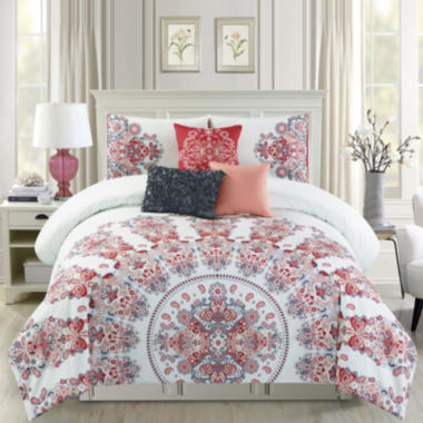 jcpenney.com | Riverbrook Home Olea 6-pc. Midweight Comforter Set